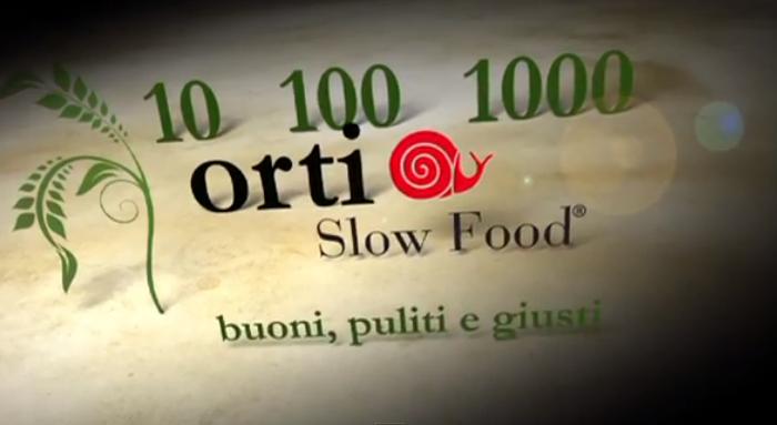 10, 100, 1000 orti Slow Food