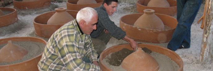 Georgian Amphora Wine