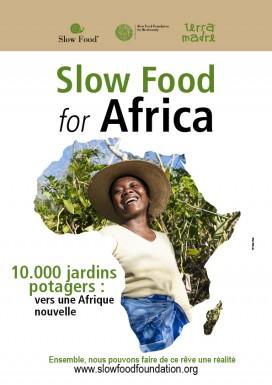 10,000 orti in Africa Libretto francese