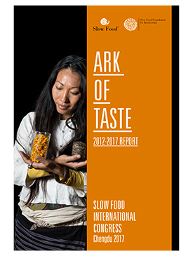 Ark of Taste. 2012-2017 Report