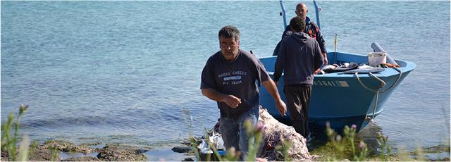Piccola pesca di Torre Guaceto