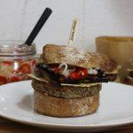 Rebecca Saari's recipe: brown bean burger