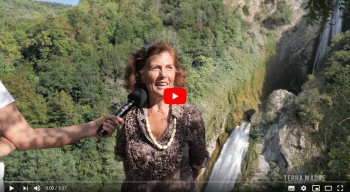 Franca Eletti – L'orto di Pizzutello con affaccio sulle cascate della Valle dell'Aniene