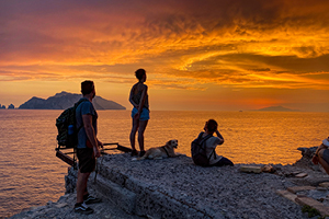 Costiera Amalfitana, tramonto
