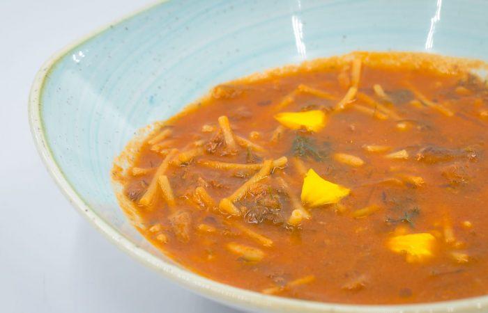 From the Italian Slow Food Cooks' Alliance, Lila Bentivegna's Sardine Soup