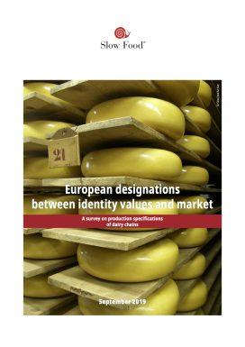 European designations between identity values and market